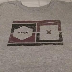 Hurley t-shirt.